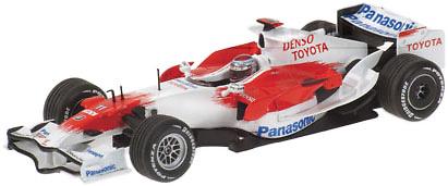Toyota TF108 Showcar #11 J. Trulli (2008) Minichamps 1/43