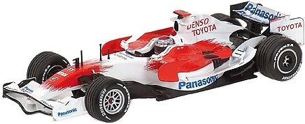 Toyota TF108 nº 11 Jarno Trulli (2008) Minichamps 1/43