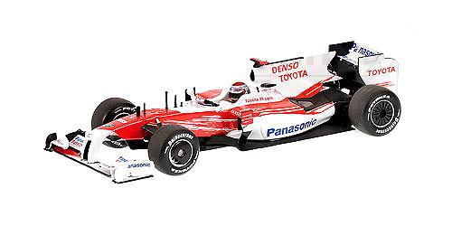 Toyota TF109 nº 9 Jarno Trulli (2009) Minichamps 400090009 1/43