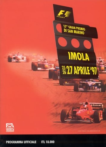 Poster del GP. F1 de San Marino de 1997