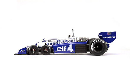 Tyrrell P34 GP. Mónaco nº 4 Patrick Depailler (1977) True Scale TSM141809 1:18