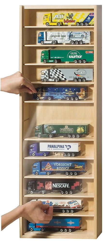 Vitrina madera con estantes extraibles 09518 Schuco