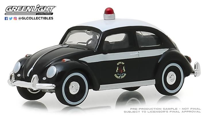 Volkswagen Beetle Policia de Saint John, New Brunswick, Canada () Greenlight 29940F 1/64