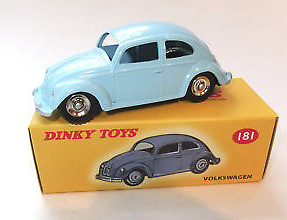 Volkswagen Escarabajo (1960) Dinky Toys 181 1/43