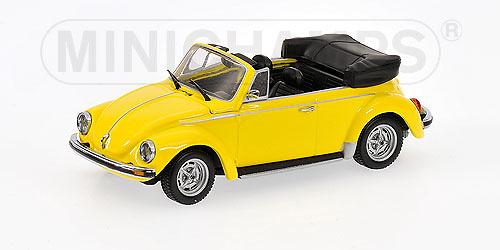 Volkswagen Escarabajo 1303 Cabrio Abierto (1972) Minichamps 430055144 1/43