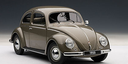 Volkswagen Escarabajo Limousine (1955) Autoart 79777 1/18