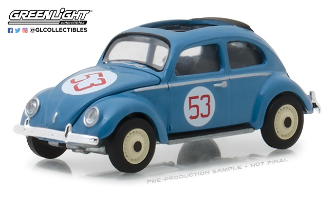 Volkswagen Escarabajo luna partida nº 53 (1953) Greenlight 29920A 1/64