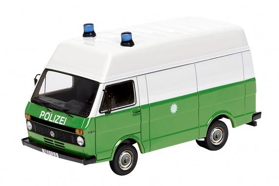 Volkswagen LT techo alto de la Policia Alemana (1980) Schuco 452587500 1/87