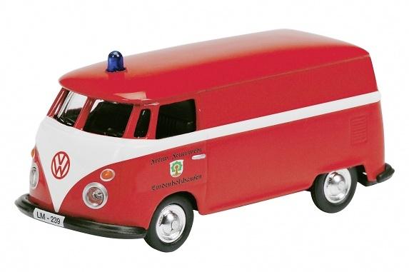 Volkswagen T1 Bomberos (1960) Schuco 452573400 1/87