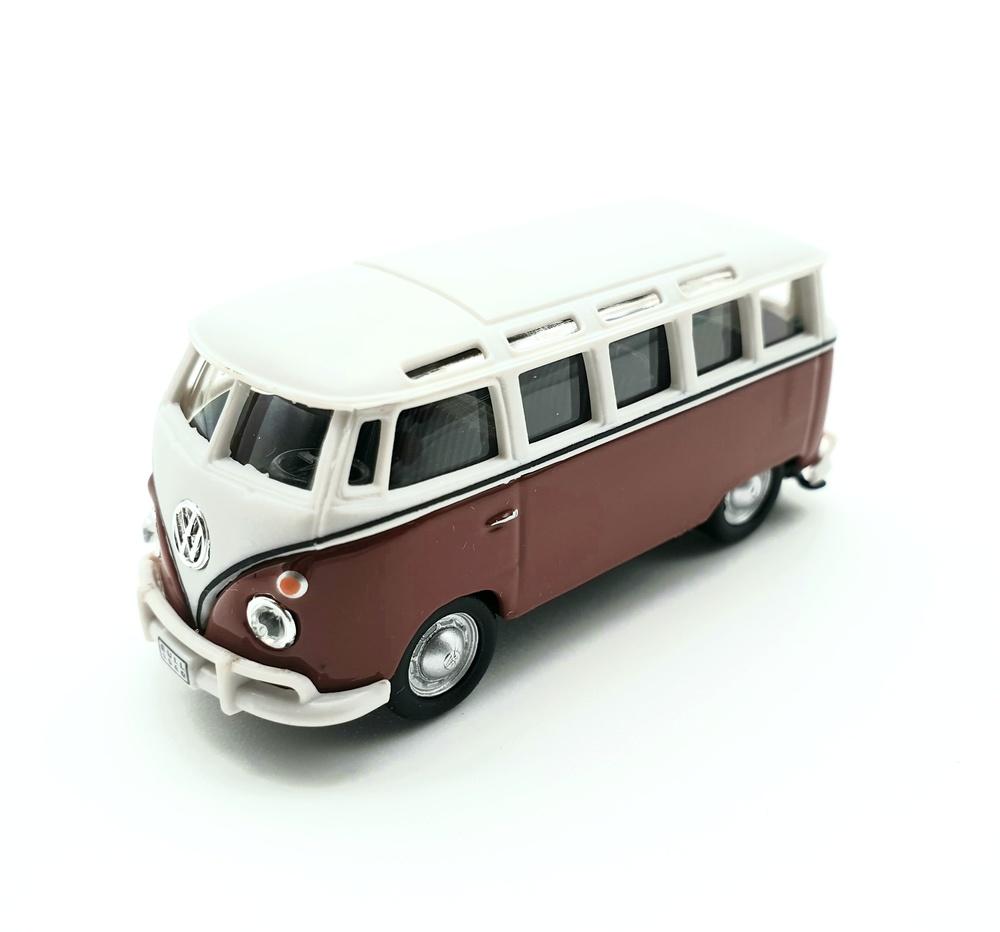 Volkswagen T1 Bus Samba (1960) Cararama 60080 1/72
