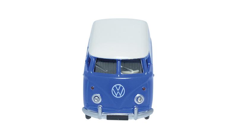 Maqueta de la Volkswagen T1 combi van de 1960 fabricada por Minialuxe en miniatura a escala 1/66