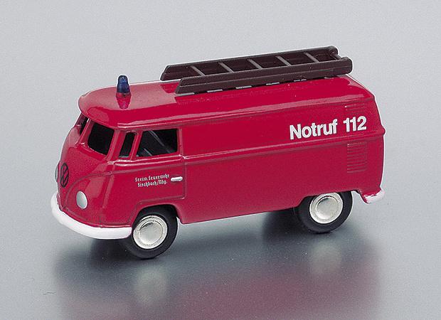 Volkswagen T1 Furgoneta Bomberos Bub 06560 1/87
