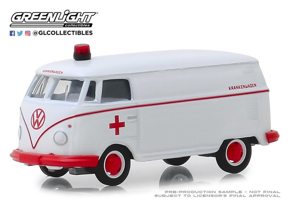 Volkswagen Panel Van Ambulancia (1964) Greenlight 29960A 1/64