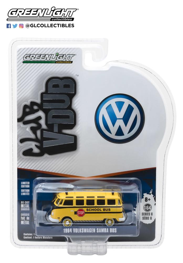 Volkswagen T1 Samba Bus (1964) Greenlight 29890B 1/64