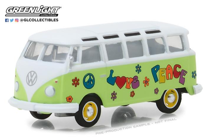 Volkswagen T1 Samba Bus (1964) Greenlight 29920C 1/64