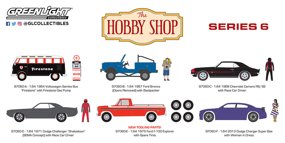 The Hobby Shop Series 6 Greenlight 97060 1/64