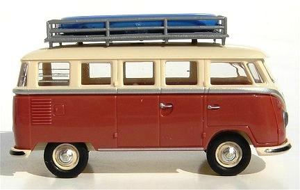 Volkswagen T1 Samba con Lancha (1962) Brekina 31815 1/87