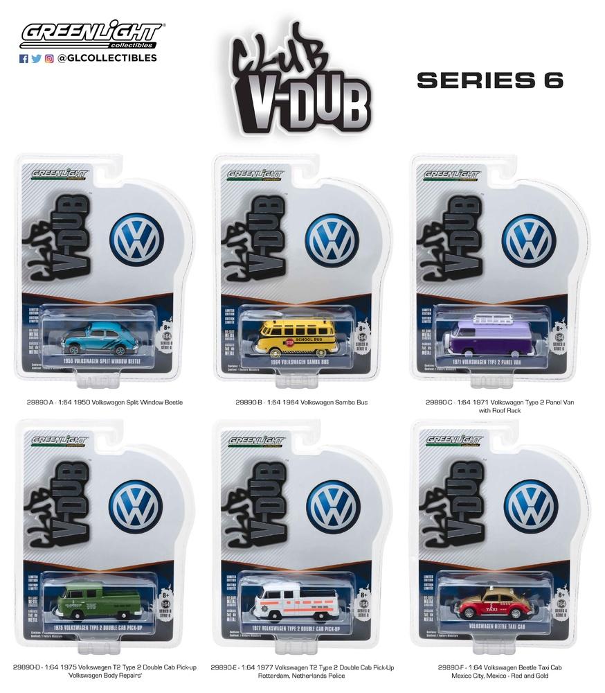 Club V-Dub Series 6 Greenlight 29890 1/64