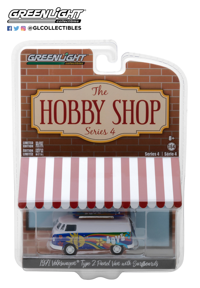 The Hobby Shop series 4 Greenlight 97040C 1/64
