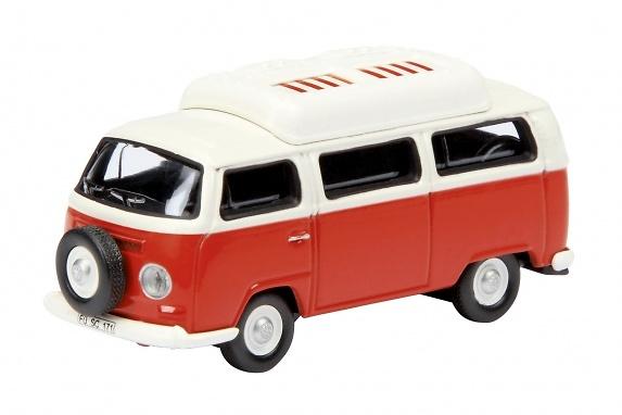 Volkswagen T2a Camper con techo cerrado (1971) Schuco 452585800 1/87