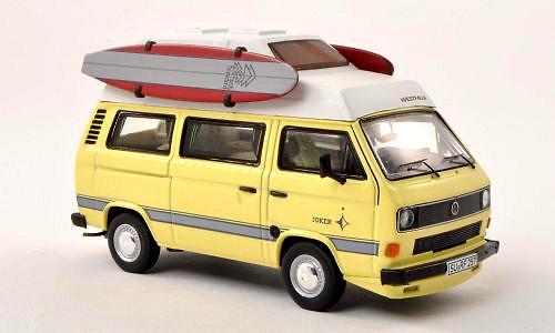 Volkswagen T3b Westfalia Joker con tablas de surf (1985) Premium Classixxs 13079 1:43