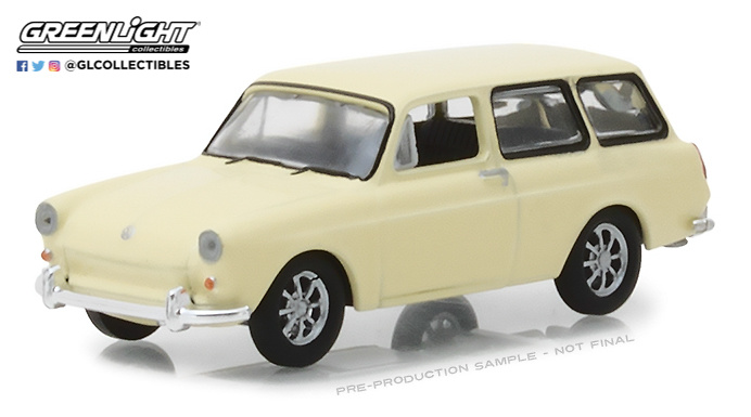Volkswagen Tipo 3 Familiar (1966) Greenlight 29920D 1/64