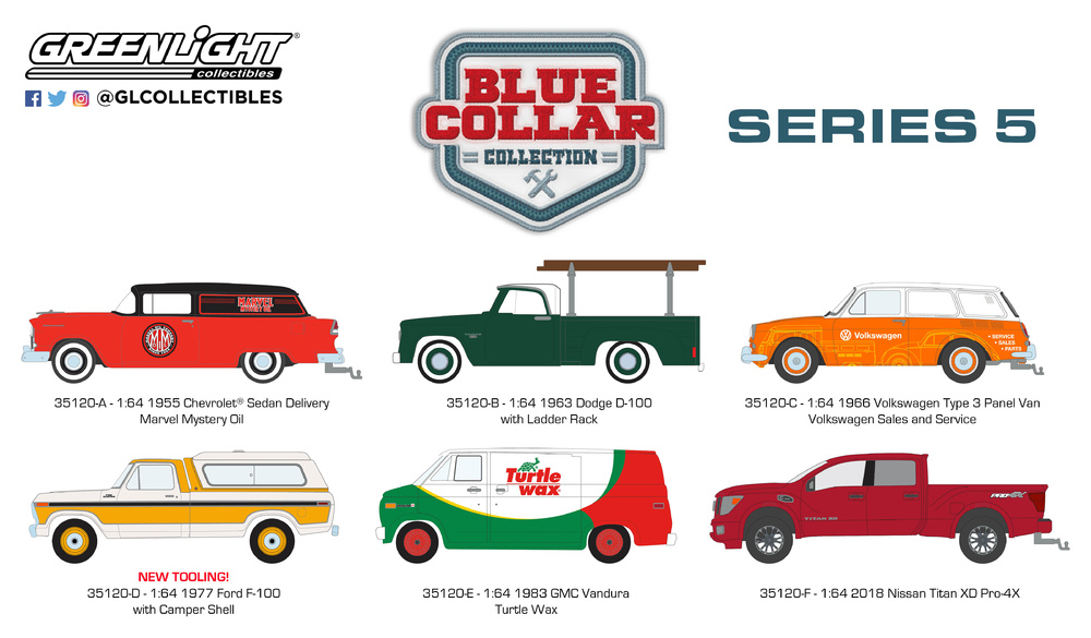 35120 1:64 Blue Collar Collection Series 5