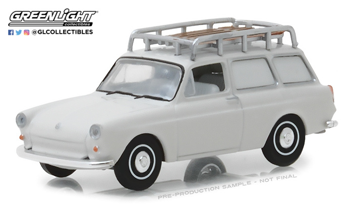 Volkswagen Tipo 3 Panelada (1963) Greenlight 29920B 1/64