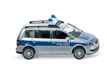 Volkswagen Touran Policia (2003) Wiking 1043333 1/87