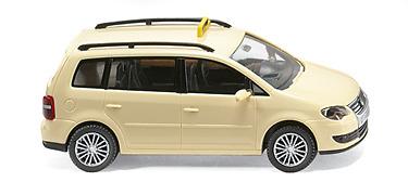 VW Touran Taxi Alemán (2005) Wiking 1492030 1/87