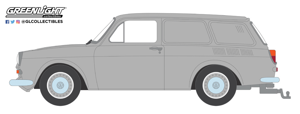 Volkswagen Type 3 Panel Van (1965) Greenlight 29910-C 1/64