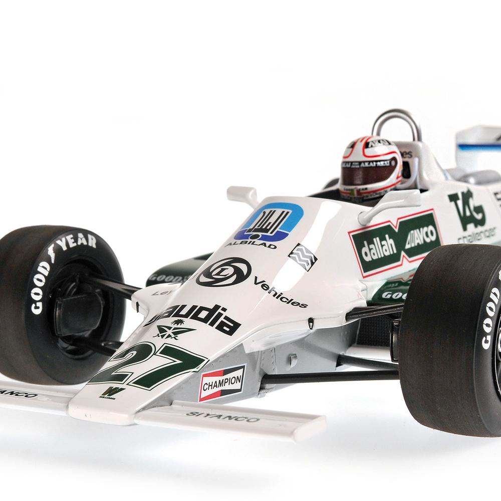 Williams FW07B nº 27 Alan Jones (1980) Minichamps 117800027 1:18