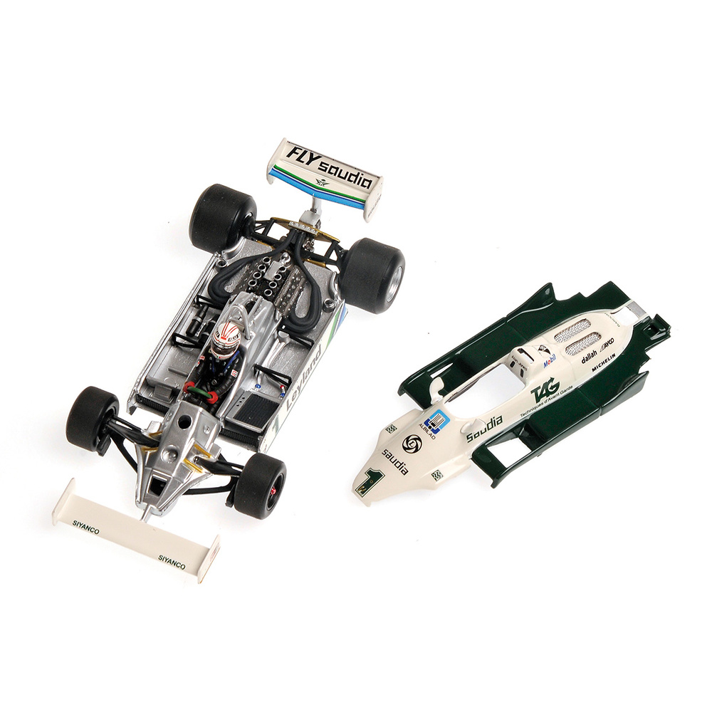 Williams FW07C nº 1 Alan Jones (1981) Minichamps 400810001 1:43