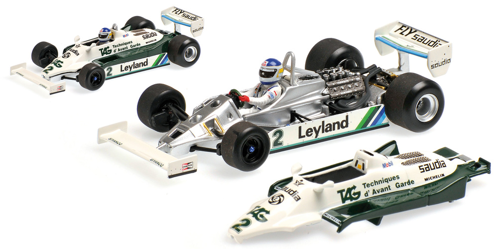 Williams FW07C nº 2 Carlos Reutemann (1981) Minichamps 400810002 1:43