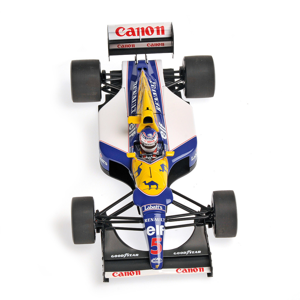 Williams FW14 nº 5 Nigel Mansell (1992) Minichamps 186920005 1/18