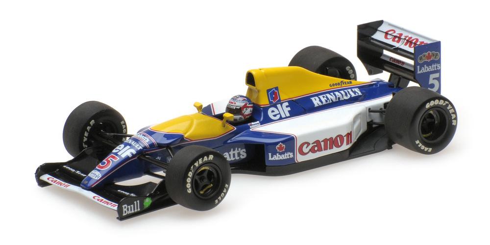 Williams FW14B nº 5 Nigel Mansell (1992) Minichamps 436920005 1:43