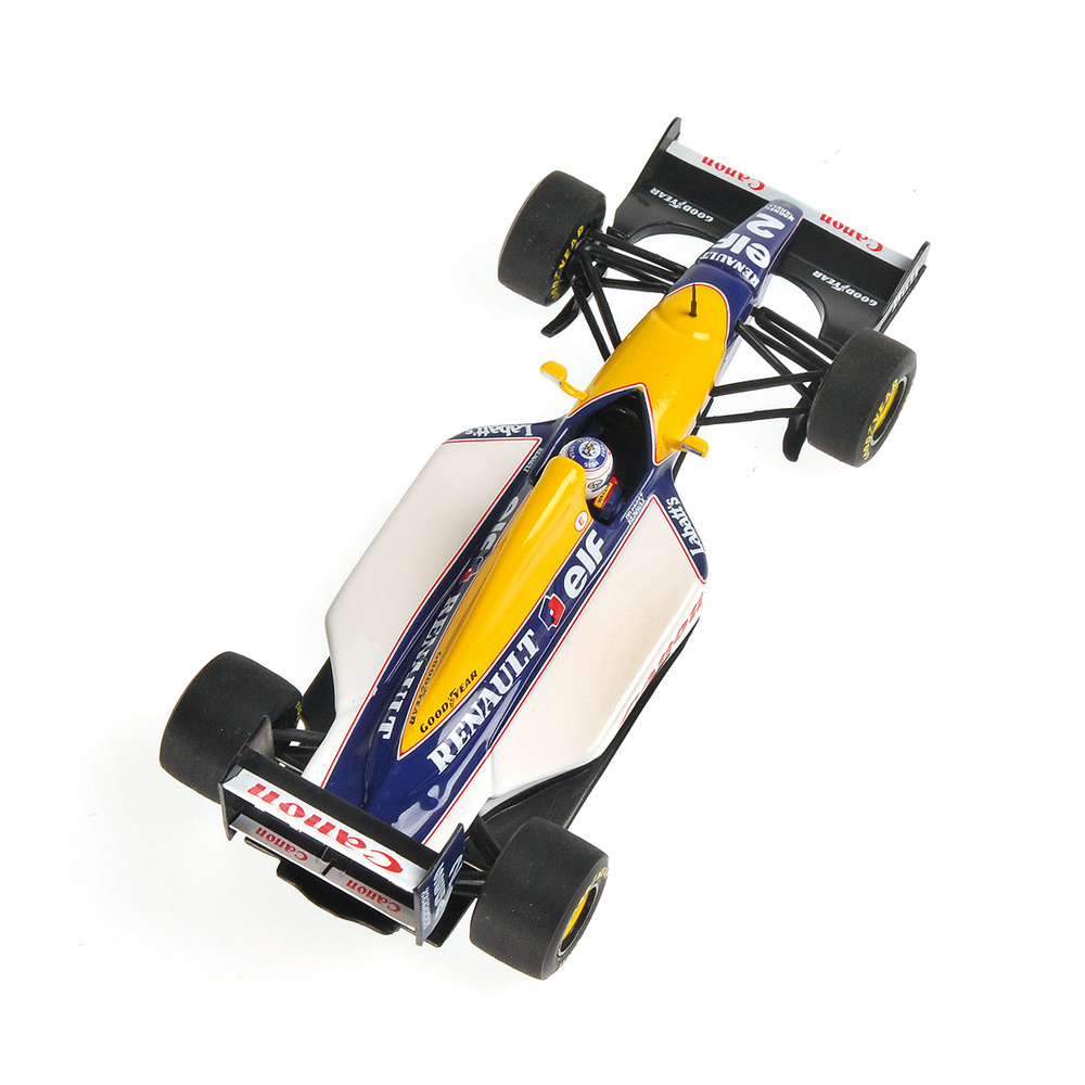 Williams FW15C nº 2 Alain Prost (1993) Minichamps 436930002 1/43