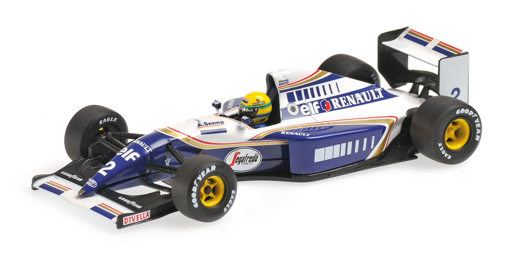 Williams FW16 Ayrton Senna (1994) Minichamps 540944302 1:43