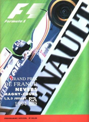 Poster del GP. F1 de Francia de 1994