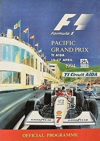 Poster GP. F1 Pacífico de 1994