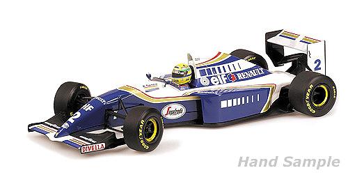 Williams FW16 nº 2 Ayrton Senna (1994) Minichamps 547941202 1:12