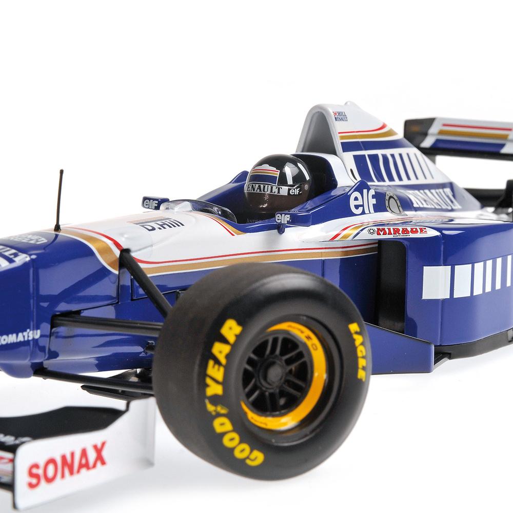 Williams FW18 nº 5 Damon Hill (1996) Minichamps 186960005 1/18