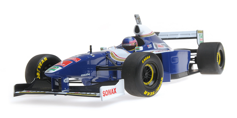 Williams FW19 nº 3 Jacques Villeneuve (1997) Minichamps 186970003 1:18