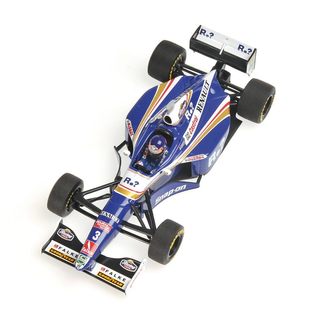 Williams FW19 nº 3 Jacques Villeneuve (1997) Minichamps 436970003 1/43