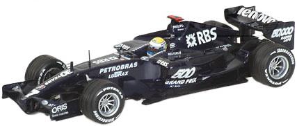 Williams FW29 nº 7 Nico Rosberg (2007) Minichamps 1/43