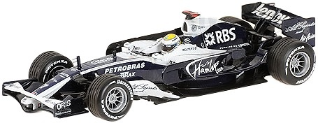 Williams FW30 nº 7 Nico Rosberg (2008) Minichamps 400080007 1/43