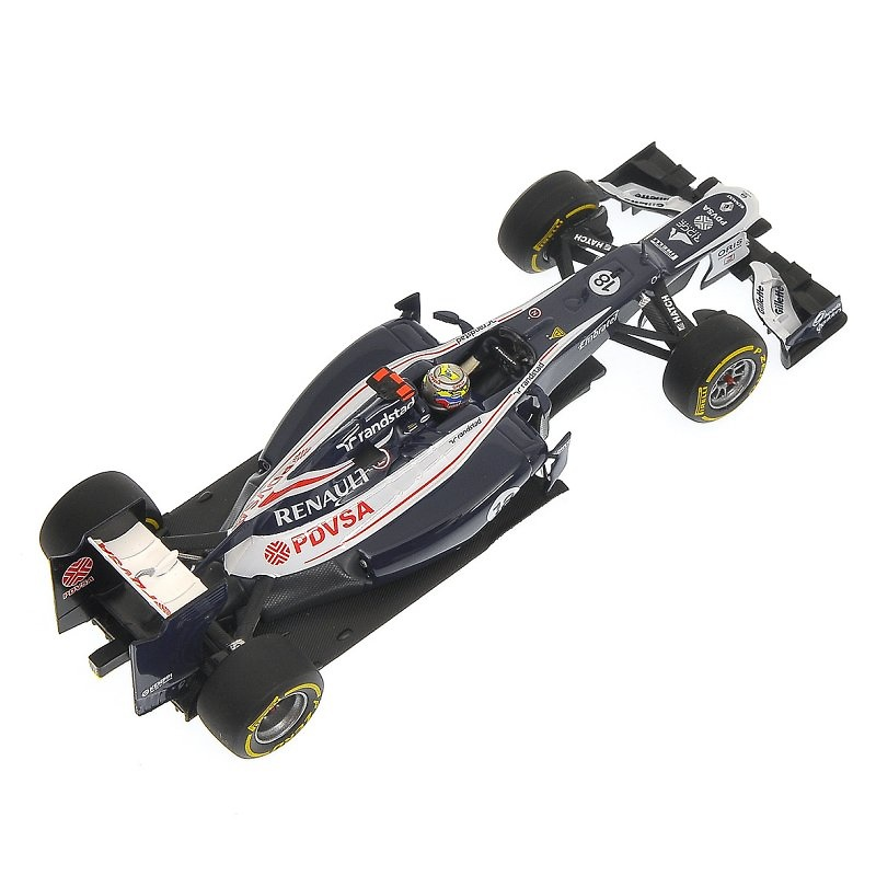 Williams FW34 nº 18 Pastor Maldonado (2012) Minichamps 410120018 1:43