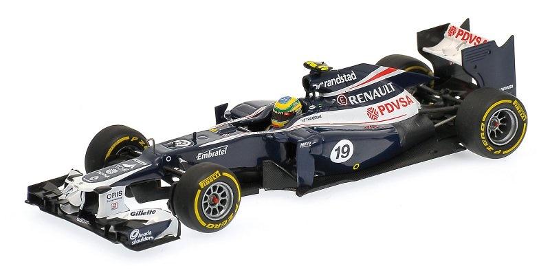 Williams FW34 nº 19 Bruno Senna (2012) Minichamps 410120019 1:43