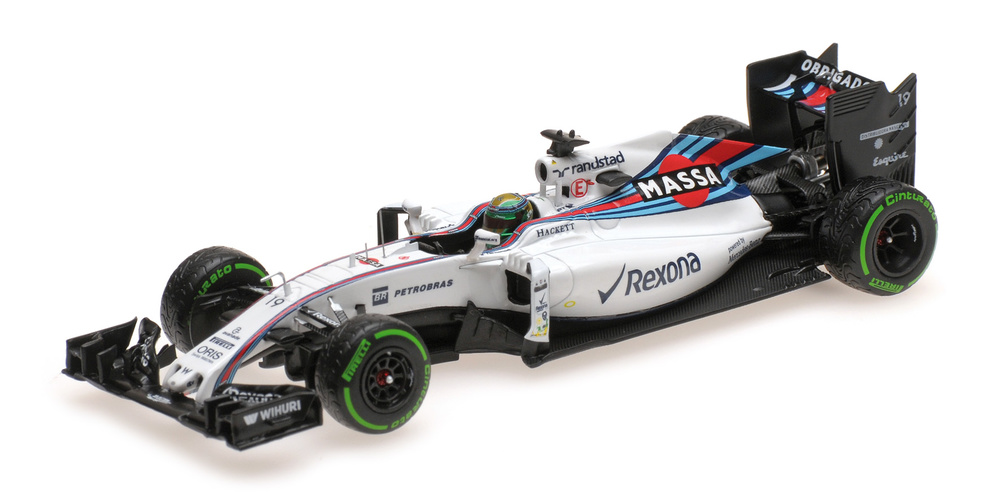 Williams FW38 GP. Brasil