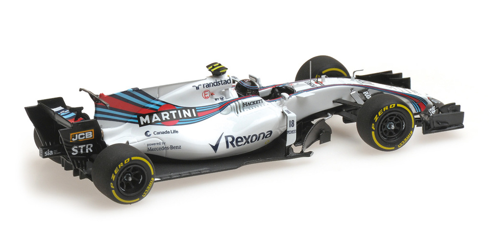 Williams FW40 nº 18 Lance Stroll (2017) Minichamps 417170018 1:43